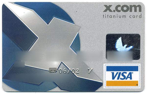 X.com Debit Card